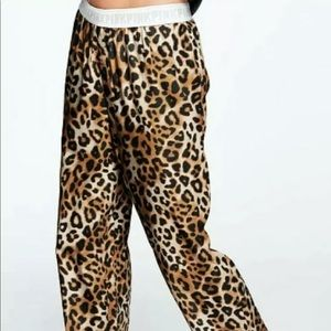 Victoria Secret Pink Leopard Pants